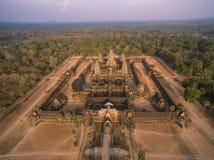 Angkor Wat (Cambodia) Stock Photo