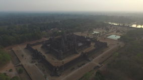 Angkor Wat (Cambodia) stock video footage