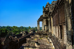 Angkor Wat. Cambodia. Ancient architecture. Royalty Free Stock Photography