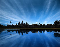 Angkor Wat Cambodia. Ancient temple Royalty Free Stock Photography