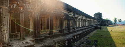 Angkor Wat cambodia Arquitetura antiga Imagem de Stock Royalty Free