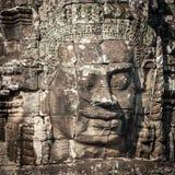Angkor Wat Cambodia. Bayon temple in Angkor Thom Stock Image