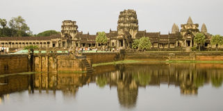 Angkor Wat Cambodia in daytime Stock Photo