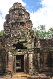 Angkor Wat, Cambodia - December 6, 2016: Galleries and tourists Stock Photo