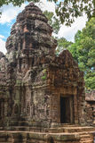 Angkor Wat, Cambodia - December 6, 2016: Galleries and tourists Stock Image