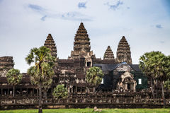 Angkor Wat in cambodia Stock Image