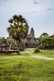 Angkor Wat in cambodia Royalty Free Stock Photo