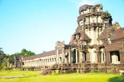 Angkor Wat, Cambodia. Filmed in The Angkor Wat in Kampuchea Royalty Free Stock Images