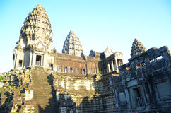 Angkor Wat, Cambodia. Filmed in The Angkor Wat in Kampuchea Stock Image