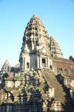 Angkor Wat, Cambodia. Filmed in The Angkor Wat in Kampuchea Stock Photos
