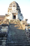 Angkor Wat, Cambodia. Filmed in The Angkor Wat in Kampuchea Royalty Free Stock Photo