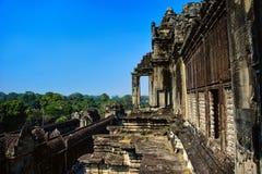 Angkor Wat cambodia forntida arkitektur Royaltyfri Fotografi