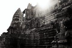 Angkor Wat cambodia forntida arkitektur Arkivfoto