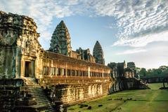 Angkor Wat, Cambodia. Inner temple complex at Angkor Wat, Cambodia Royalty Free Stock Photos