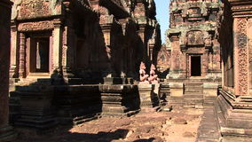Angkor Wat in cambodia stock video footage