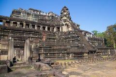 Angkor Wat, Cambodia. Ruins of a temple at Angkor Wat, Cambodia Royalty Free Stock Photos