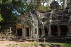 Angkor Wat, Cambodia. Ruins of a temple at Angkor Wat, Cambodia Stock Images