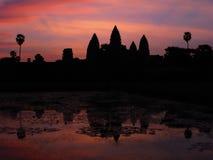 Angkor Wat, Cambodia. Angkor Wat at sunrise, Cambodia Royalty Free Stock Photo