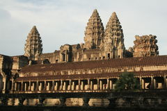 Angkor Wat - Cambodia. Angkor Wat temples in Cambodia Royalty Free Stock Photo