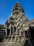 Angkor wat in Cambodia. View at Angkor wat in Cambodia royalty free stock photos