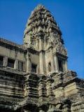 Angkor wat in Cambodia. View at Angkor wat in Cambodia stock photos