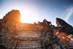 Angkor Wat Cambodja Arkivfoto