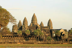 Angkor Wat Cambodja Royaltyfri Foto