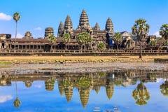 Angkor Wat, Cambodja Royaltyfri Bild