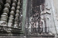 Angkor Wat, Cambogia Immagini Stock