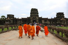 Angkor Wat, Cambogia Fotografie Stock