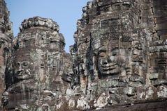 Angkor Wat Carvings Lizenzfreies Stockbild