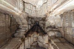 Angkor Wat ceiling. Look up to Angkor Wat ceiling Royalty Free Stock Image