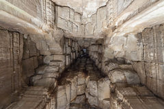 Angkor Wat ceiling. Look up to Angkor Wat ceiling Stock Images