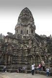 Angkor Wat central towers Stock Photos