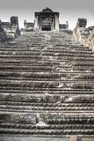 Angkor Wat central towers Royalty Free Stock Photos