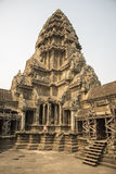 Angkor Wat central towers Royalty Free Stock Photo
