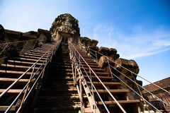 Angkor Wat complex Royalty Free Stock Photo