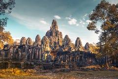 Angkor Wat Configuración antigua Foto de archivo libre de regalías