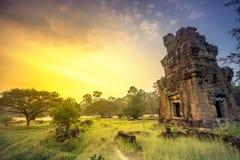 Angkor Wat Configuración antigua Fotografía de archivo libre de regalías