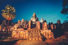 Angkor Wat Configuración antigua Imagen de archivo