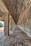 Angkor Wat Corridor Cambodia Immagini Stock