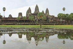 Angkor Wat by day Stock Image