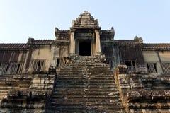 Angkor Wat de ascensão Imagens de Stock Royalty Free