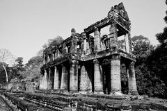 Angkor Wat de Kampuchea Imagem de Stock Royalty Free