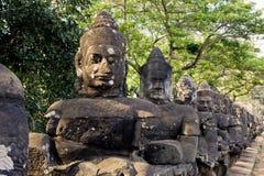 Angkor Wat de Kampuchea Foto de Stock Royalty Free