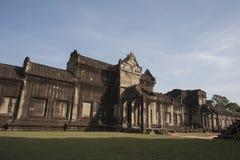 Angkor Wat dentro del detalle. imagenes de archivo