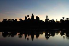 Angkor Wat an der Dämmerung Lizenzfreies Stockbild