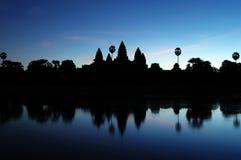Angkor Wat an der Dämmerung Stockfotos