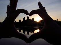 Os templos de Angkor Foto de Stock