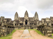 East entrance of Angkor Wat Stock Images